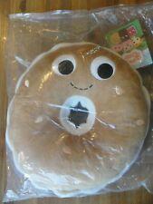 """Kidrobot Yummy World 10"""" BOBBY BAGEL Plush Brand New"""