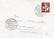 Allemagne de l'ouest 1963 Stuttgart à Vienne First Flight Cover Très bon état