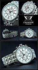 Massive Titane-Black Hawk Aviateur Chronographe de la Maison Cavadini