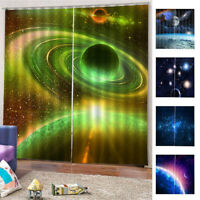 Curtain Space Theme Bedroom Living Dining Room Curtain Environmental Protection