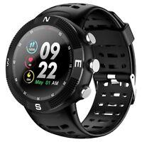 Smartwatch F18 waterproof IP68 bluetooth GPS notifiche cadio per Android e iOS
