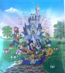 Walt Disney World Resort 30th Anniversary Photo Album 40-Pages Store Pictures
