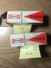 Matched Pair 25L6GT Raytheon NOS NIB Tested