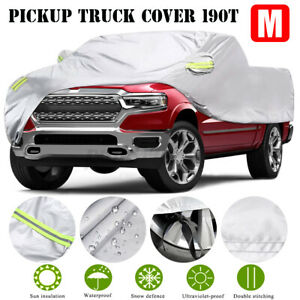 Full Car Cover Pickup Truck Outdoor Waterproof UV Rain Snow Dust Proof M Size