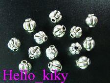 150 pcs Tibetan silver lantern sapcer beads A572