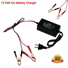 12 Volt Automatic Battery Float Charger Trickle Car Boat Motorcycle Auto Charger