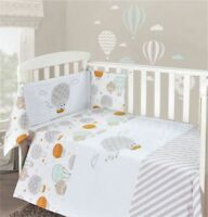 cotbed Polka Design 3 Piece Bedding Bale For Cot From Birth Sale RRP £39.99