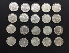 Lot Of 20 BU 1964 Kennedy Half Dollar 90% Silver Coin $10 Face Value