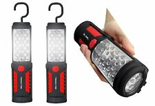 2 Pack Bell and Howell Torch Lite - Handheld Flashlights with 33 LED bulbs