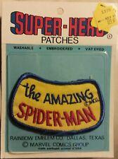 Vintage Marvel Superheroes Classic Amazing Spider-Man Logo NIP