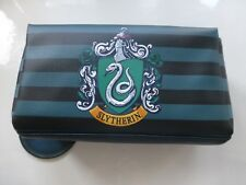 Slytherin Crest Harry Potter make up bag pencil case BNWT School College stripe