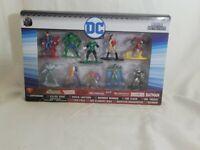 JADA Toys DC NANO Metalfigs 100% Diecast Metal 10 Figure Pack NEW