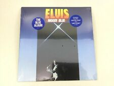 Elvis Presley - Elvis Moody Blue LP - 1977 Album Record SEALED NEW - Blue Vinyl