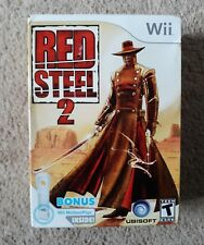 Red Steel 2 w/ MotionPlus - Nintendo Wii Brand new factory sealed FREE SHIPPING