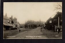 """Forest Row - The Village - real photographic postcard in """"Martin's"""" series"""