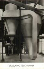 Industrial Equipment Adv Garwood NJ Bowen Engineering Real Photo Postcard #1