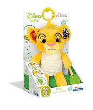 New Clementoni Disney Lion King Simba First Activity Soft Plush Toy