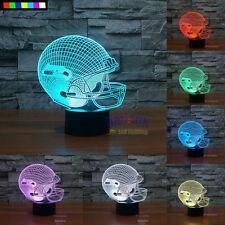 NFL Seattle Seahawks 3D Night Light Free Ship 7 Colors Change LED Table Lamp