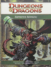 Monster Manual: 4th Edition D&d Supplement Dungeons & Dragons