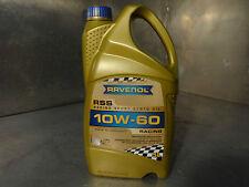 RAVENOL RSS Racing Sport Synto 10W-60 Performance Engine Oil 5 Litre Rally Race