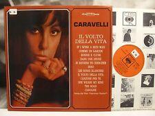 CARAVELLI - IL VOLTO DELLA VITA LP EX/EX 1968 ITA 1st PRESS CBS S 63275