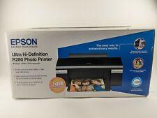 New Epson Stylus R280 Color Inkjet Photo Printer Ultra Hi Definition Opened Box
