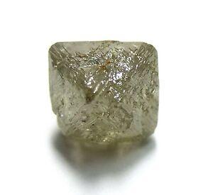 5.35 Carats Unique Uncut Gemmy Raw Rough Diamond Octahedron