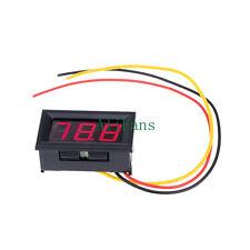 Mini DC0-99.9V Red LED Panel Meter Tester Digital Display Volt Voltmeter 3 wire