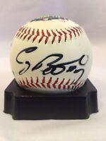 Craig Biggio Signed 1999 Fenway Park All Star Game Baseball JSA COA