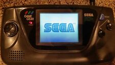 Sega Game Gear TESTED AND WORKING NEW CAPACITORS SCREEN PROTECTOR FREE SHIPPING