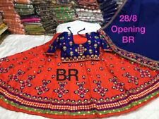 Navratri special traditional gamthi work fully ready stitch full sleeves blouse
