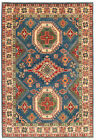 """Vintage Hand-Knotted Carpet 6'8"""" x 9'9"""" Traditional Oriental Wool Area Rug"""