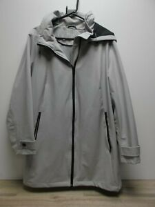 DKNY men's Grey Hooded Zip Up lined lightweight Coat jacket uk size XL