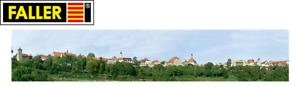 """Faller 180509 Modellhintergrund """"Kleinstadt"""" (1 m² - 18,14 €) - NEU + OVP"""