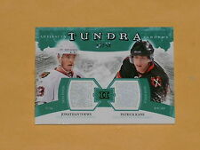 2011-12 Artifacts Tundra Tandems Dual Patch Hockey Card # TT2-TK Toews/Kane /50