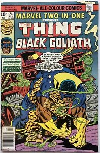Marvel Two-In-One Vol 1 #24 (1977) The Thing and Black Goliath