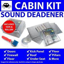 Heat & Sound Deadener Chevy Nova 1968 - 74 Cabin Kit + Tape, Roller 36696Cm2