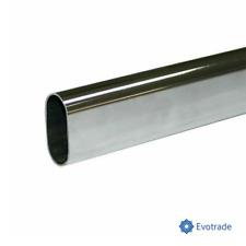 LOTTO 10x - TUBO APPENDIABITI 15x30mm Con SUPPORTI LATERALI - Varie Lunghezze