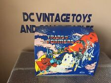 Vintage Transformers G1 hanging store display from 1984 Hasbro  for tent by ero