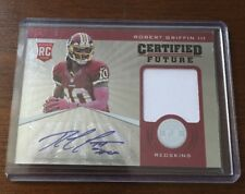 ROBERT GRIFFIN III 2012 PANINI AUTOGRAPHED SIGNED AUTO FOOTBALL CARD 1 143/175