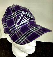 Colorado Rockies (Melonwear) Snapback Unisex Baseball Cap Hat w/ Ear Muffs & Tie