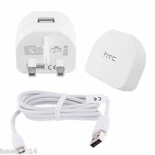 Genuine HTC TC  B270 Mains Charger & Data Cable For HTC Latest Smartphones