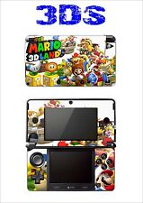 PELLE STICKER ADESIVO DECORATIVO PER NINTENDO 3DS RIF. 177 SUPER MARIO LAND 3D