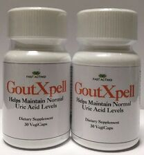 2 GoutXpell ! Gout Relief,Helps Maintain Normal Uric Acid Levels / Fast Acting!