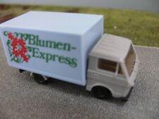 1/87 Herpa VW LT Kasten Blumen Express grau