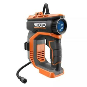 RIDGID 18V Cordless High Pressure Inflator with Digital Gauge (Tool-Only)