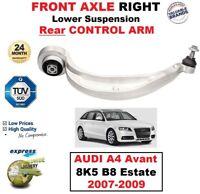 Avant Droit Inférieur Suspension Arrière Bras pour Audi A4 Avant 8K5 B8 Break
