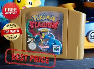 Pokemon Stadium 2 Nintendo N64 Video Game Cartridge Console Card US Version NTSC