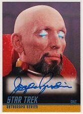 STAR TREK TOS A50 JOSEPH RUSKIN AS GALT AUTOGRAPHED CARD SKYBOX 1998