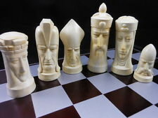 Gothic Medievel Chess Set- Marble effect